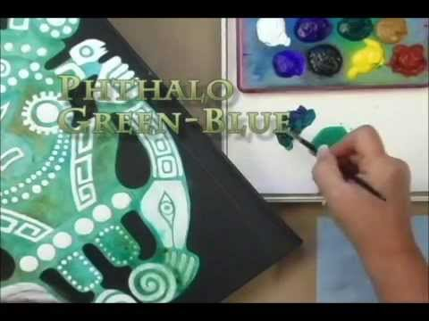 Acrylic Painting Technique - Learn New Painting Techniques