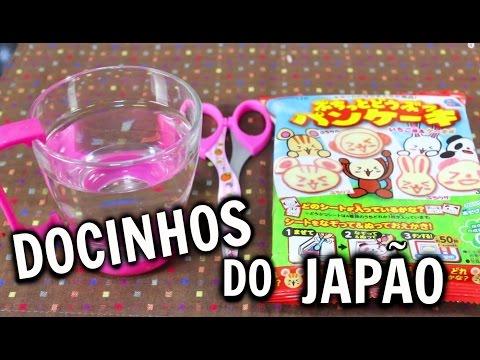 Docinhos do Japão | Panqueca de coelho | ぷちっとどうぶつパンケーキ