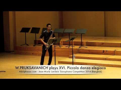 W PRUKSAVANICH plays XVI Piccola danza elegiaca