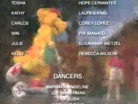 Barney Live! In New York City! Credits (1994)