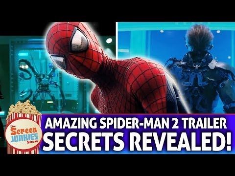 Amazing Spider-Man 2 Trailer - Secrets Revealed