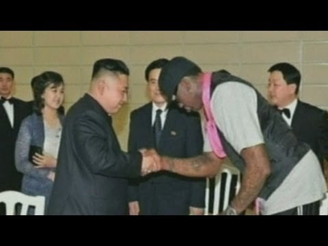 Dennis Rodman in North Korea: Kim Jong-un is 'friend for life'