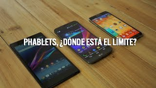 Comparativa Phablets Galaxy Note 3, LG G Flex, Sony Xperia