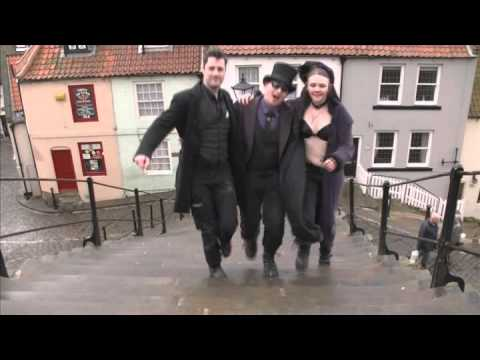 GANGNAM STYLE PARODY Whitby Gothic Style, Just a fun video for laughs :)