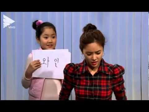 Gia đình là số 1, phần 2, tập 79, Ji hoon và Jung Eum chơi game đoán từ