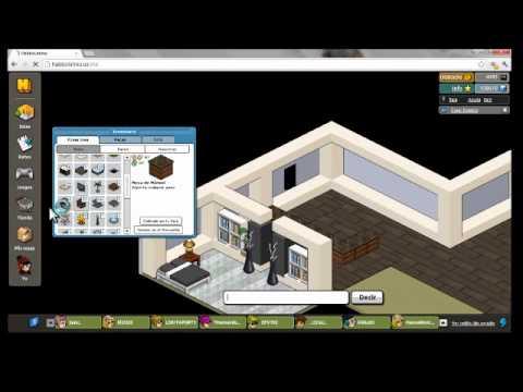 Como crear casa moderna en habbo holo en 6min youtube for Casa moderna habbo 2017