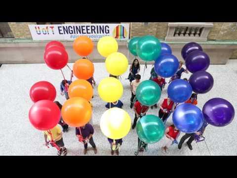 Display Your Pride 2016 - U of T Engineering - #DisplayYourPride
