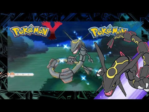 how to get rayquaza in pokemon x and y