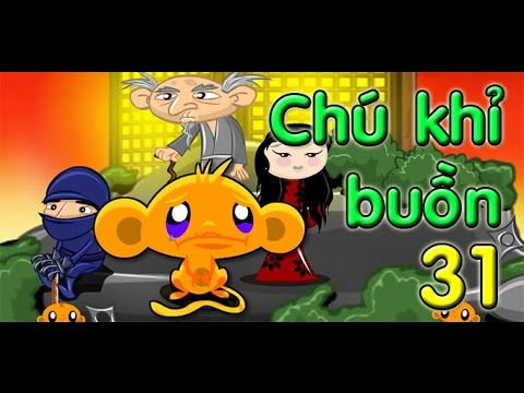 Game chú khỉ buồn 31 - Video đáp án game chú khỉ buồn 31