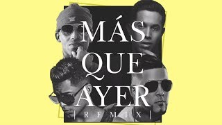 Arcangel y De La Ghetto - Más Que Ayer ft. RKM y Ken-Y [Lyric Video]
