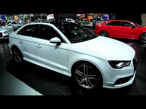 2015 Audi A3 S-Line Sedan - Exterior and Interior Walkaround - 2013 LA Auto Show