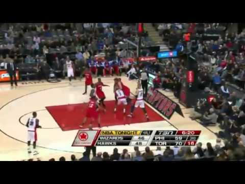 Toronto's Lowry Spins and Dishes   Sixers vs Raptors   December 13  2013   NBA 2013 14 Season