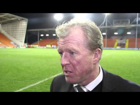 BLACKPOOL 1-3 DERBY COUNTY | Steve McClaren Post-Match