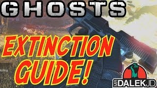 "Call Of Duty: Ghosts ""EXTINCTION"" ULTIMATE CO-OP GUIDE"