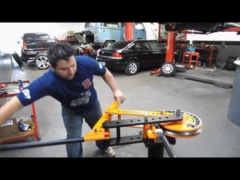 Gaiola cross - Maquina de dobrar tubo
