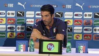 """Buffon: """"In Nazionale devono giocare i migliori"""" - 6 Settembre 2014"""