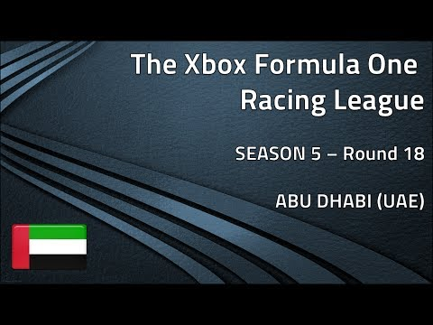 Xbox Formula One Racing League (S5) - R18: UAE