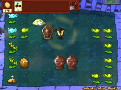Plants vs Zombies - Vase Breaker Endless Part 1