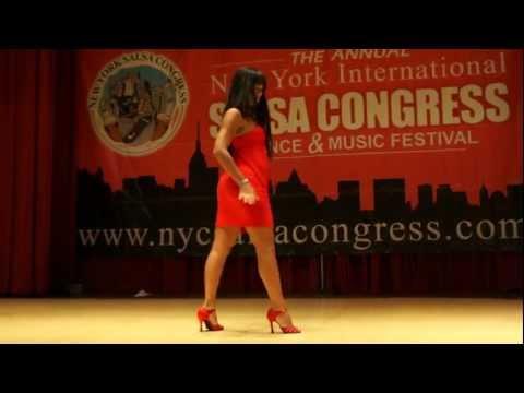 Eddie Torres & Griselle Ponce workshop salsa on2 shines part1 @ NY Salsa Congress 2011