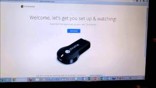 Google Chrome Cast Setup TechBear 89
