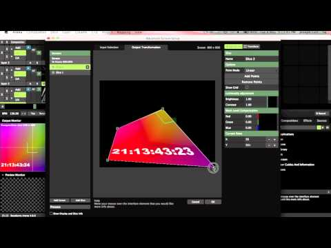 Video Mapping Tutorial - Resolume Arena 4
