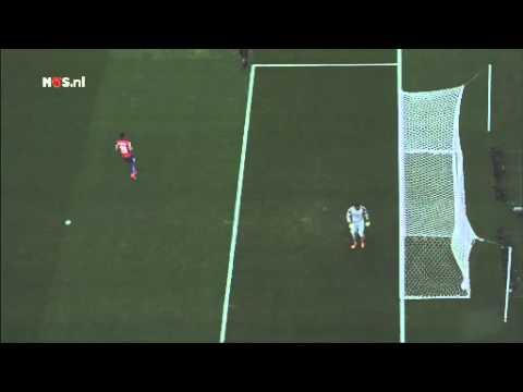 De snoeiharde penalty van Aránguiz | WK Voetbal 2014