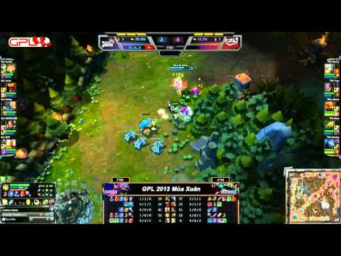 [GPL 2013 Mùa Xuân] [Tuấn 2] Saigon Jokers vs Taipei Assassins [12.01.2013]