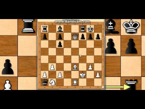 Šahovski problem br2  - BOATHER vs PATTERSON -mat u tri poteza  # 181 sah i mat