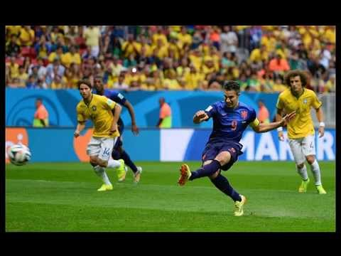Brazil vs Nederlands - Brazil 0-3 Holland - FIFA World Cup 2014 - all goals - third place