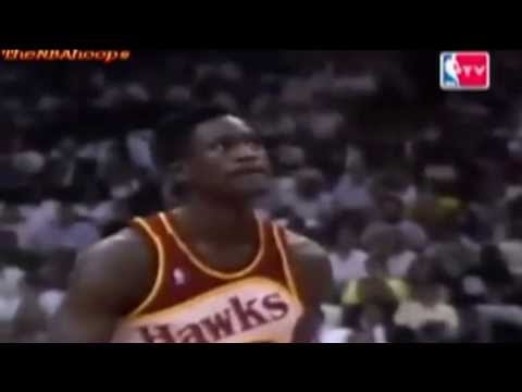 Dominique Wilkins - 1990 NBA Slam Dunk Contest (Champion)