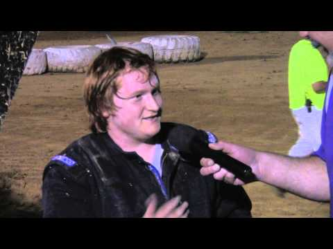 Trail-Way Speedway 358 Sprint Car Victory Lane 7-11-14