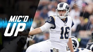 "Jared Goff Mic'd Up vs. Texans ""It's Mayhem on the Headset Right Now"" 