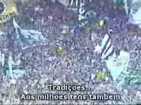 Hino do Botafogo cantado pela torcida