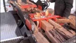 Keren, mesin pembelah kayu