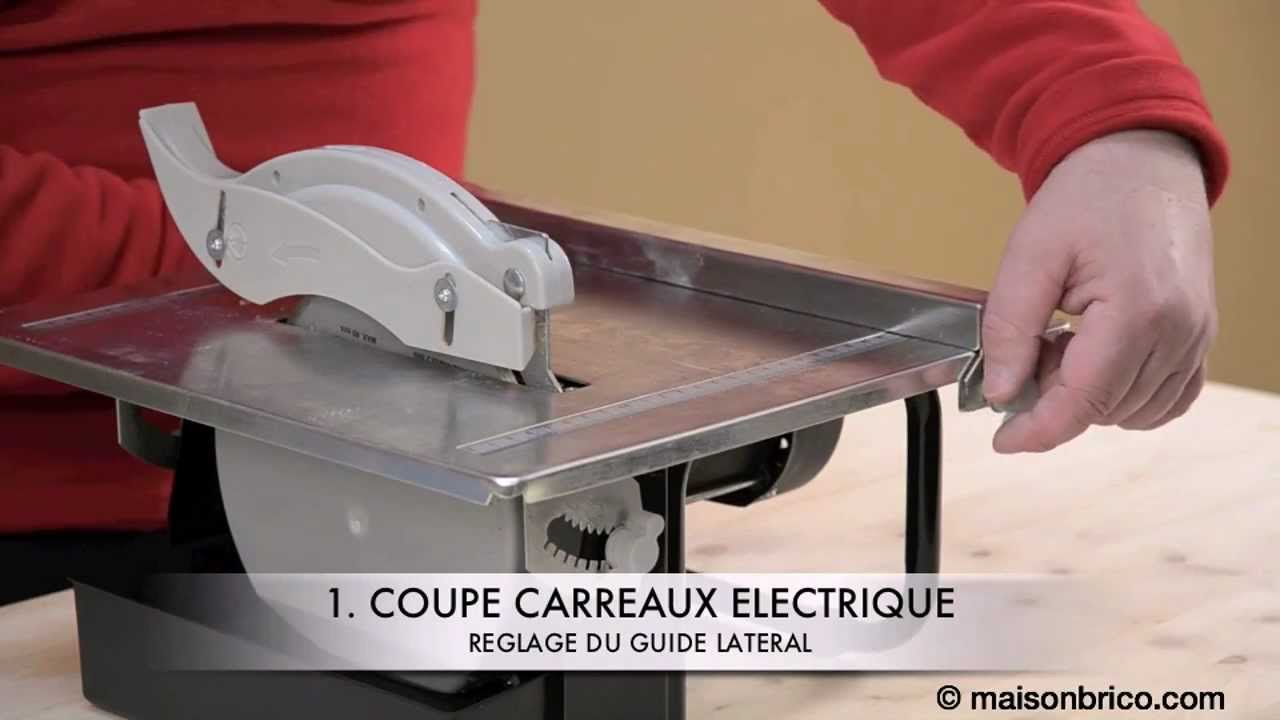 Machine pour couper le carrelage 28 images coupelec for Couper carrelage