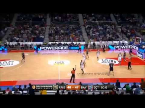 Real Madrid 111-87 FC Bayern de Múnich - Baloncesto Euroleague Top 16 Round 3