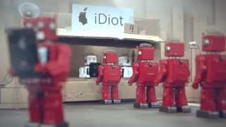 Idiots - paródia na iPhone