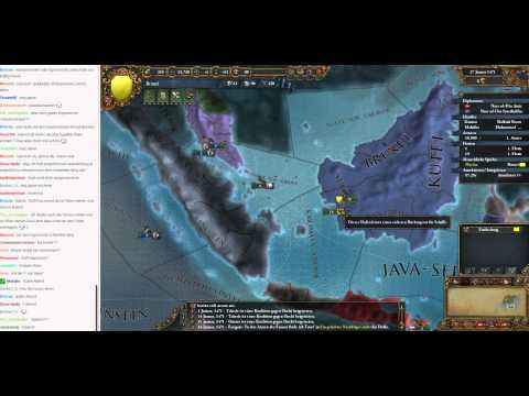Livestream Europa Universalis IV Brunei to Malaysia 04 (Let's Play/Deutsch)