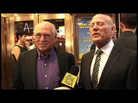 Jimmy Buffett and Frank Marshall at Opening Night of BIG FISH on Broadway