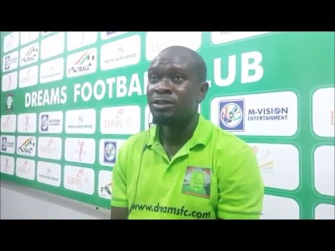 VIDEO: Dreams FC coach expects hellish task for his troops at Berekum Chelsea