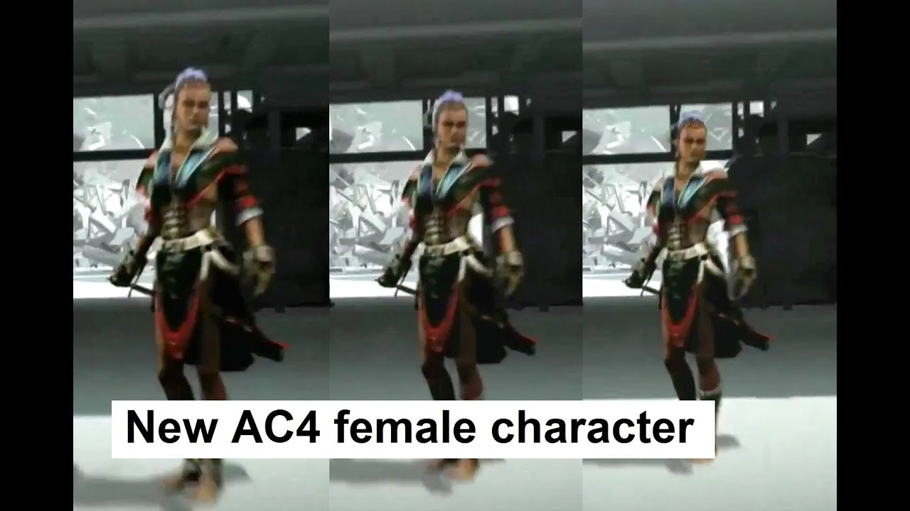 Lady black from assassin's creed 4 online  hentai tube