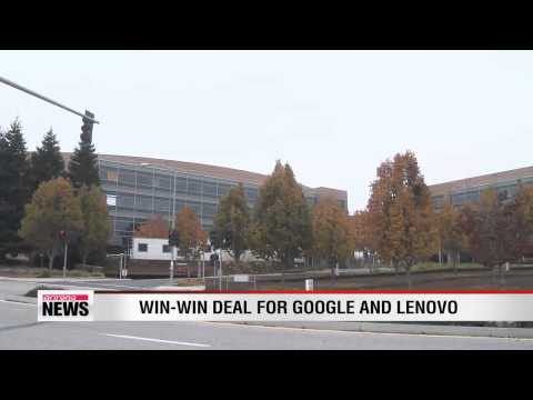 Google selling Motorola Mobility Unit to Lenovo for $2.91 billion