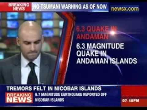 6.3 magnitude earthquake hits nicobar islands