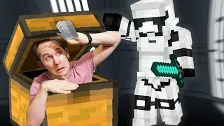 Hide & Seek In The Death Star!   Minecraft Mixed Reality!