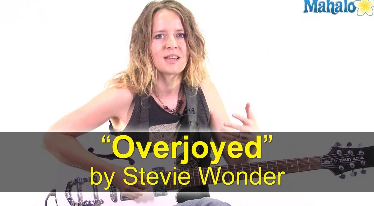 Stevie wonder song overjoyed lyrics