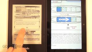Kindle Fire HDX Vs Kindle Paperwhite 2 Reading Comparison