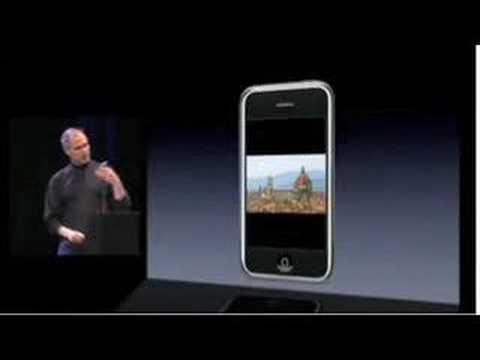 iPhone Steve Jobs Key Note Highlights