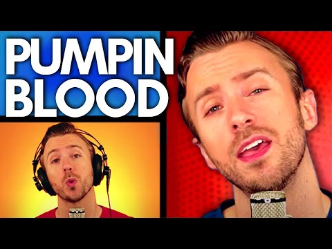 NONONO - Pumpin Blood - Peter Hollens A cappella Cover