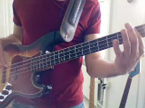 L55 Strummed bass octaves Larry Graham style