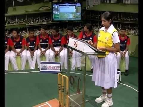 Quiz T20 - 3-08-2013 - J/Vembadi Girls' High School vs St.Michael's College Batticaloa